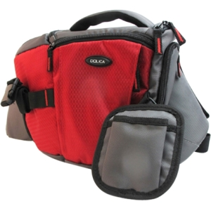 Dolica SB-015RD Carrying Case for Camera - Gray, Red