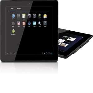 "Coby Kyros MID9740 9.7"" 8 GB Tablet - Wi-Fi - Allwinner Cortex A8 1 GHz - Black - Multi-touch Screen 1024 x 768 XGA Display - 1 GB RAM - Android 4.0 Ice Cream Sandwich - HDMI"