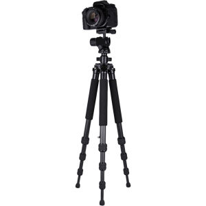 "Dolica ZX600B300 - Professional Carbon Fiber Tripod with Balanced Ball Head - 22"" to 60"" Height - 13.00 lb Load Capacity"
