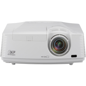 Mitsubishi FD730U 3D Ready DLP Projector - 1080p - HDTV - 16:9 - SECAM, NTSC, PAL - 1920 x 1080 - Full HD - 3,000:1 - 4100 lm - HDMI - VGA In - Ethernet - 410 W - 3 Year Warranty