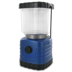 Portable 2 in 1 All Purpose Ultra Bright LED Camping Lantern with Dimmer  (Random Colors)