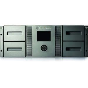 HP MSL4048 2 LTO-5 Ultrium 3000 SAS Tape Library (BL538B) - 72 TB (Native) / 144 TB (Compressed) - SAS