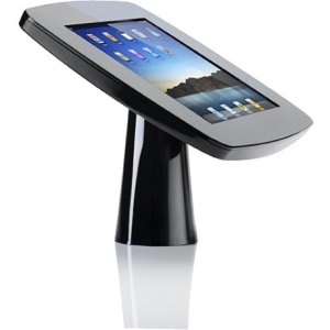 Tryten iPad Kiosk - Black - For iPad - Stainless Steel, Polycarbonate