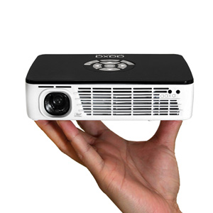 AAXA Technologies Pico P300 DLP Pocket Size Projector - 300 Lumen Led, HDMI, ARM Processor
