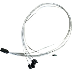 Image of Adaptec 0.8M Internal Mini SAS HD x4 to (4) x1 Serial ATA Fan-Out Cable