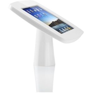 Tryten iPad Kiosk - White - For iPad - Stainless Steel, Polycarbonate