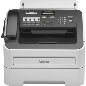 Brother FAX-2940 Laser Multifunction Printer - Monochrome - Plain Paper Print - Desktop - Printer, Copier, Scanner, Fax - 20 ppm Mono Print - 2400 x 600 dpi Print - 20 cpm Mono Copy - 600 dpi Optical Scan - 250 sheets Input - USB