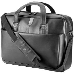 "HP Carrying Case (Briefcase) for 17.3"" Notebook, Tablet PC - Leather"