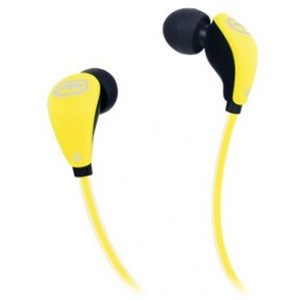 Ecko Unltd. Glow Earbud - Stereo - Yellow - Mini-phone - Wired - 16 Ohm - 20 Hz - 20 kHz - Earbud - Binaural - In-ear - 3.94 ft Cable