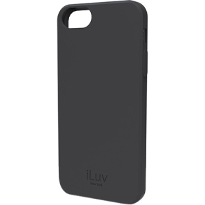 iLuv iCA7T306 - Soft, Flexible Case for iPhone 5 - iPhone - Gray