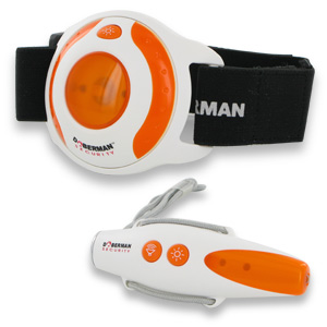 Doberman Security SE-0306OR Alarm Combo -  Orange/White