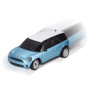 GO Cans! Mini ClubMan - Ultra Micro RC Racer, 1:56 Scale