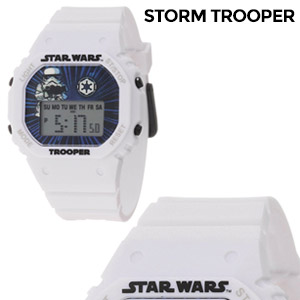 Star Wars Kids' Storm Trooper Digital Watch