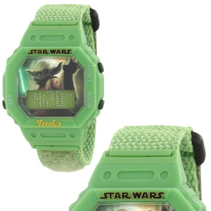 Star Wars Kids' Yoda Digital Wrap Strap Watch