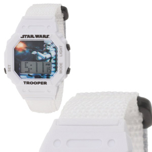 Star Wars Kids' Storm Trooper Digital Wrap Strap Watch