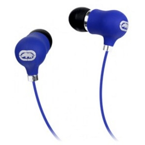 Ecko Unltd. Bubble Earbud - Stereo - Blue - Mini-phone - Wired - 16 Ohm - 20 Hz - 20 kHz - Earbud - Binaural - In-ear - 3.94 ft Cable