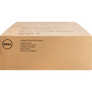 Dell Imaging Drum Kit for C3760n/ C3760dn/ C3765dnf Color Laser Printers - Laser Imaging Drum - Cyan, Magenta, Yellow, Black - 60000 Page - 4 Pack