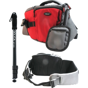 Dolica SB-015 Series Professional Sling and WT-1003 67&quot; Monopod Kit