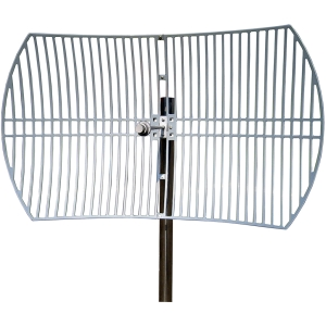 Tp-Link 5GHz 30dBi Outdoor Grid Parabolic Antenna - 30 dBi - Outdoor, Wireless Data Network - Pole