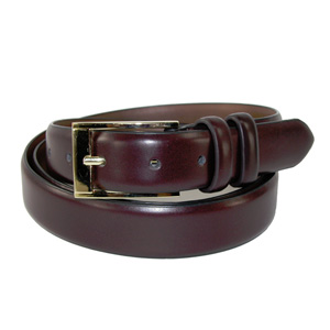 "Men's 1"" Canterbury Leather Belt (Size 52)"