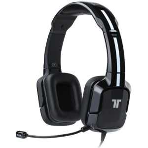 Tritton Kunai Stereo Headset for Wii U and Nintendo 3DS - Stereo - Black - Mini-phone - Wired - 16 Ohm - 25 Hz - 20 kHz - Over-the-head - Binaural - Ear-cup - 3.30 ft Cable