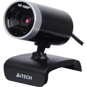 Azend PK-910H Webcam - 2 Megapixel - Silver, Glossy Black - USB 2.0 - 16 Megapixel Interpolated - 1920 x 1080 Video - Microphone