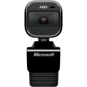 Microsoft LifeCam HD-6000 Webcam - USB 2.0 - 1280 x 720 Video - CMOS Sensor - Auto-focus - Widescreen - Microphone