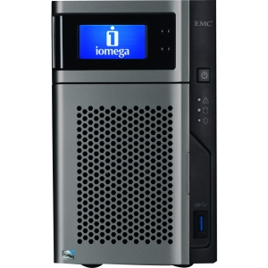 Iomega StorCenter px2-300d Network Storage Server - Intel Atom D525 1.80 GHz - 6 TB (2 x 3 TB) - USB, USB, RJ-45 Network
