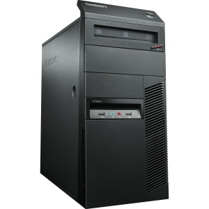 Lenovo ThinkCentre M92p 2992E3U Desktop Computer - Intel Core i5 i5-3470 3.2GHz - Mini-tower - Business Black - 4 GB RAM - 500 GB HDD - DVD-Writer - RAID Supported - Intel HD Graphics 2500 Graphics - Genuine Windows 7 Professional - DisplayPort