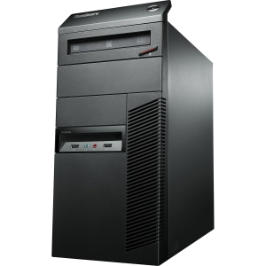 Lenovo ThinkCentre M82 3302C1U Desktop Computer - Intel Core i5 i5-3470 3.2GHz - Tower - Business Black - 4 GB RAM - 500 GB HDD - DVD-Writer - Intel HD 2500 Graphics - Genuine Windows 8 Pro - DisplayPort