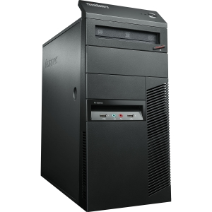 Lenovo ThinkCentre M92p 2992D1U Desktop Computer - Intel Core i5 i5-3570 3.4GHz - Tower - Business Black - 4 GB RAM - 500 GB HDD - DVD-Writer - RAID Supported - Intel HD 2500 Graphics - Genuine Windows 8 Pro - DisplayPort