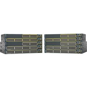 Cisco Catalyst 2960S-48LPS-L Ethernet Switch - 48 Ports - Manageable - 48 x POE - 5 x Expansion Slots - 10/100/1000Base-T - PoE Ports