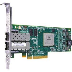 QLogic QLE2672 Fibre Channel Host Bus Adapter - 2 x LC - PCI Express 3.0 x8 - 16 Gbps