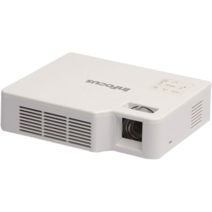 InFocus IN1144 DLP Projector - 720p - HDTV - 16:10 - SECAM, NTSC, PAL - 1280 x 800 - WXGA - 10,000:1 - 500 lm - HDMI - USB - VGA In - Secure Digital (SD) Card - 85 W - 2 Year Warranty