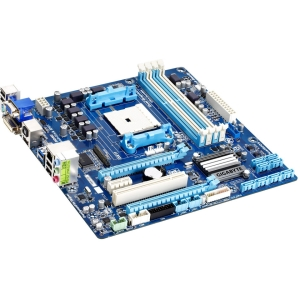 Gigabyte Ultra Durable 4 Classic GA-F2A85XM-D3H Desktop Motherboard - AMD A85X Chipset - Socket FM2 - Retail Pack - Micro ATX - 1 x Processor Support - 64 GB DDR3 SDRAM Maximum RAM - CrossFire Support - Serial ATA/600 RAID Supported Controller - CPU Depen