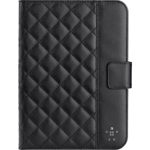 Belkin Quilted Carrying Case (Portfolio) for iPad mini - Black - Thermoplastic Polyurethane (TPU)