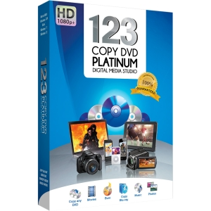 Bling Software 123 Copy DVD 2013 Platinum - Version Upgrade - Media Management/Conversion - 10 Box Retail - PC