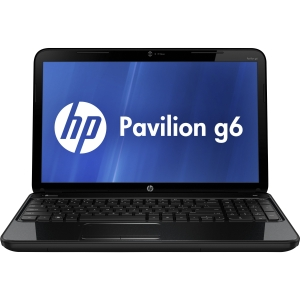 "HP Pavilion g6-2200 g6-2224nr C2N63UA 15.6"" LED Notebook - AMD - A-Series A4-4300M 2.5GHz - 1366 x 768 HD Display - 4 GB RAM - 500 GB HDD - DVD-Writer - AMD Radeon HD 7420G Graphics - Webcam - Genuine Windows 8 - HDMI"