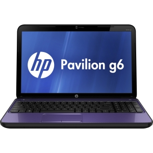 HP Pavilion g6-2200 G6-2226NR C9G67UA 15.6&quot; LED Notebook - AMD - A-Series A4-4300M 2.5GHz - Bright Purple - 1366 x 768 HD Display - 4 GB RAM - 500 GB HDD - DVD-Writer - AMD Radeon HD 7420G Graphics - Webcam - Genuine Windows 8 - HDMI
