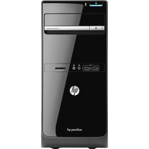 HP Pavilion p6-2300 p6-2330 H3Y77AA Desktop Computer - AMD A-Series A6-5400K 3.6GHz - Micro Tower - 6 GB RAM - 1 TB HDD - DVD-Writer - AMD Radeon HD 7540D Graphics - Wi-Fi - Genuine Windows 8 - DVI