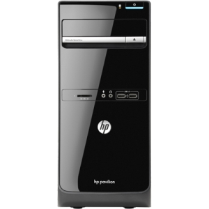 HP Pavilion p6-2300 p6-2350 H3Y78AA Desktop Computer - AMD A-Series A8-5600K 3.6GHz - Micro Tower - 8 GB RAM - 1 TB HDD - DVD-Writer - AMD Radeon HD 7560D 4 GB Graphics - Wi-Fi - Genuine Windows 8 - DVI