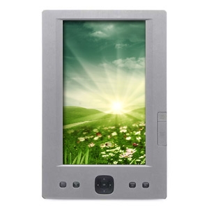 "Slick ER-700 7"" e-Reader and Case (Silver)"