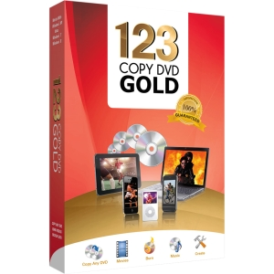 Bling Software 123 Copy DVD 2013 Gold - Version Upgrade - Media Management/Conversion - 10 Box Retail - PC