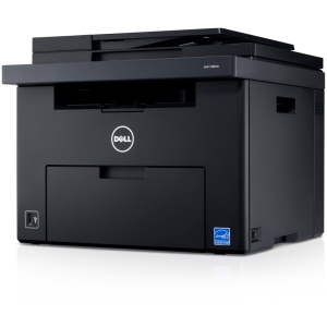 Dell C1765NFW LED Multifunction Printer - Color - Plain Paper Print - Desktop - Printer, Copier, Scanner, Fax - 15 ppm Mono/12 ppm Color Print - 600 x 600 dpi Print - 15 cpm Mono/12 cpm Color Copy LCD - 1200 dpi Optical Scan - Manual Duplex Print - 160 sh