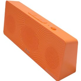 MobiTour Portable Bluetooth Wireless Stereo Speaker - Orange