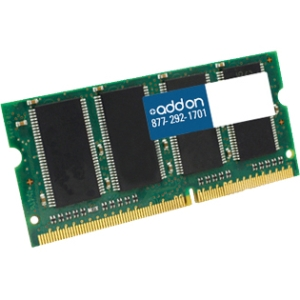 AddOn - Memory Upgrades 4GB DDR3 1600MHz 204-pin SODIMM F/Notebooks - 4 GB (1 x 4 GB) - DDR3 SDRAM - 1600 MHz DDR3-1600/PC3-12800 - 204-pin SoDIMM