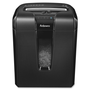 Fellowes Powershred 63Cb Cross-Cut Shredder - Cross Cut - 10 Per Pass - 5 gal Waste Capacity
