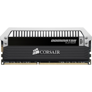 Corsair Dominator Platinum 32GB DDR3 SDRAM Memory Module - 32 GB (4 x 8 GB) - DDR3 SDRAM - 1866 MHz - 240-pin