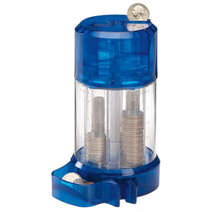 Perfect Solutions Coin Sorter and Dispenser - Blue