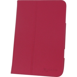 rOOCASE UltraSlim Carrying Case (Folio) for iPad mini - Magenta - Synthetic Leather